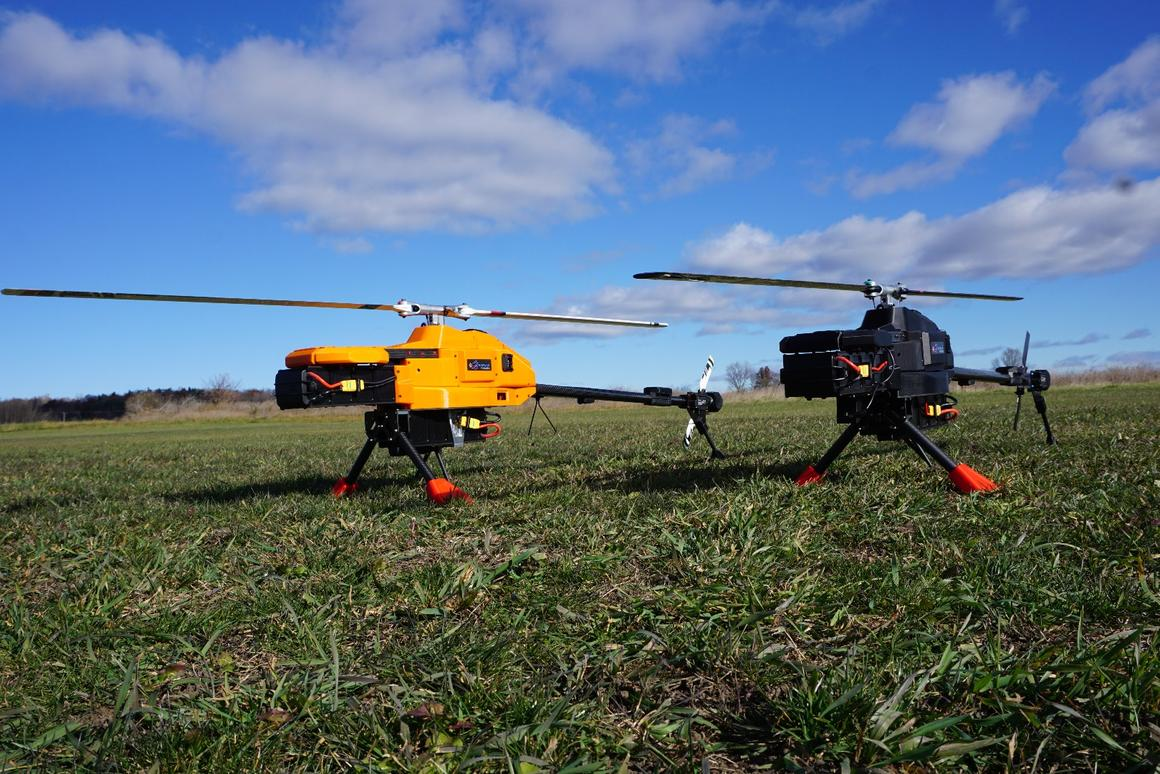 NOVAerial Procyon 800E: all the advantages of a multicopter with added endurance, lifting power and autorotation?