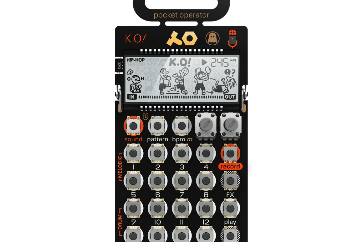 The PO-33 Ghostly edition micro sampler includes unique sounds from Ghostly artist Steve Hauschildt