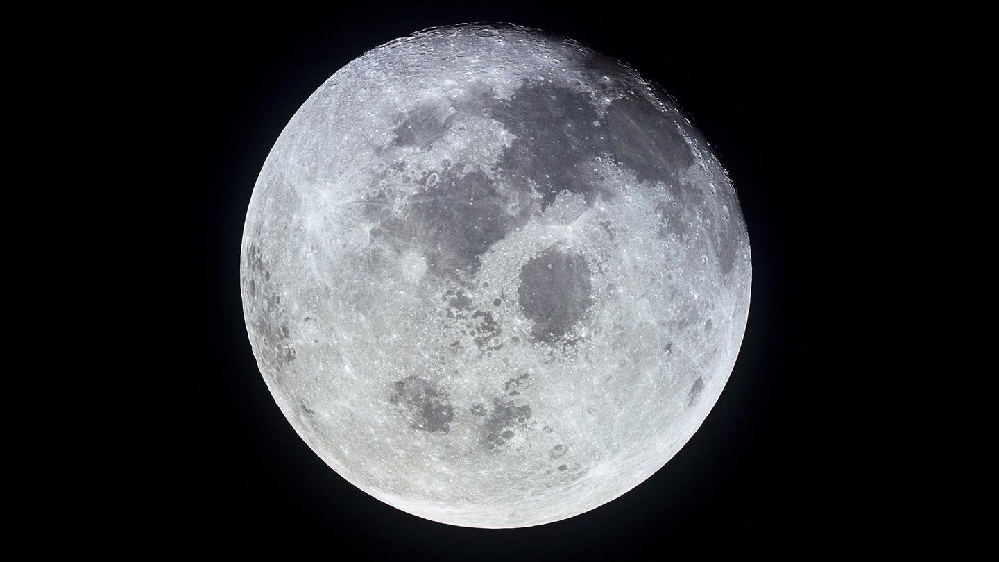 Earth's Moon as imaged by the crew of Apollo 11 over 50 years ago