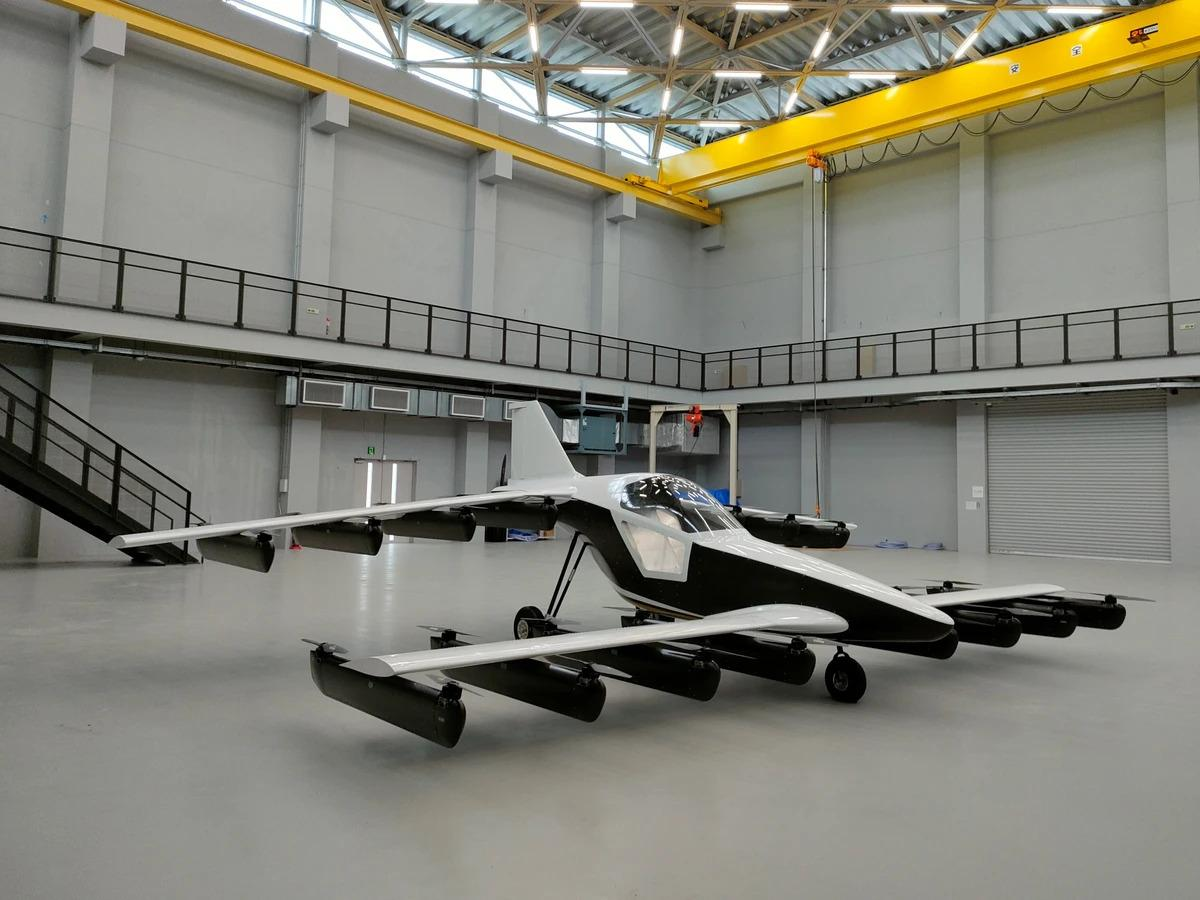 Tetra's Mk5 personal eVTOL is set to start deliveries in 2022
