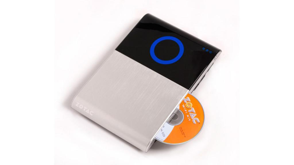 The Zotac Zbos Blu-ray series feature a slot-loading Blu-ray drive
