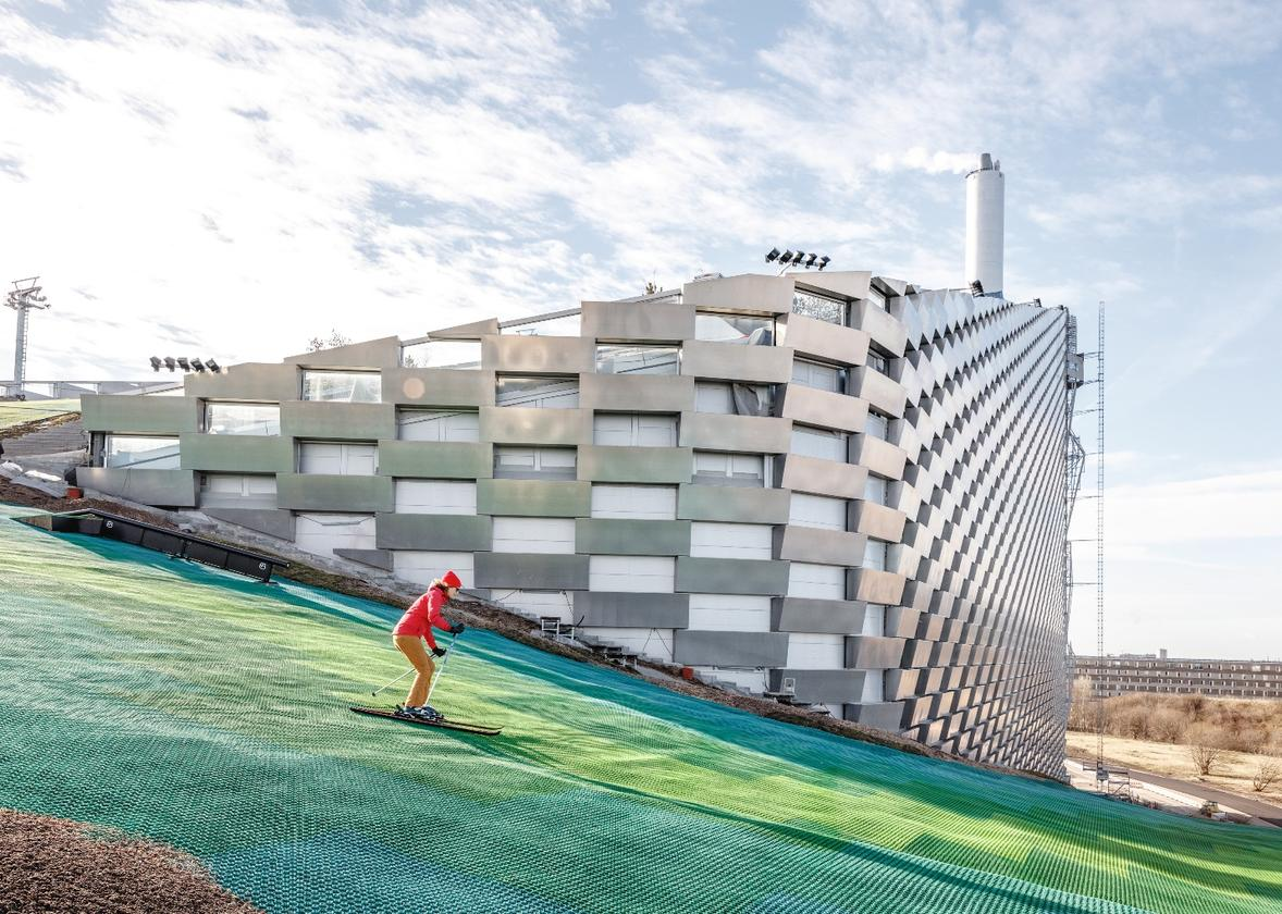 CopenHill, a Copenhagen project that mixes waste-to-energy-plant and ski slope, is one of our best projects of the year