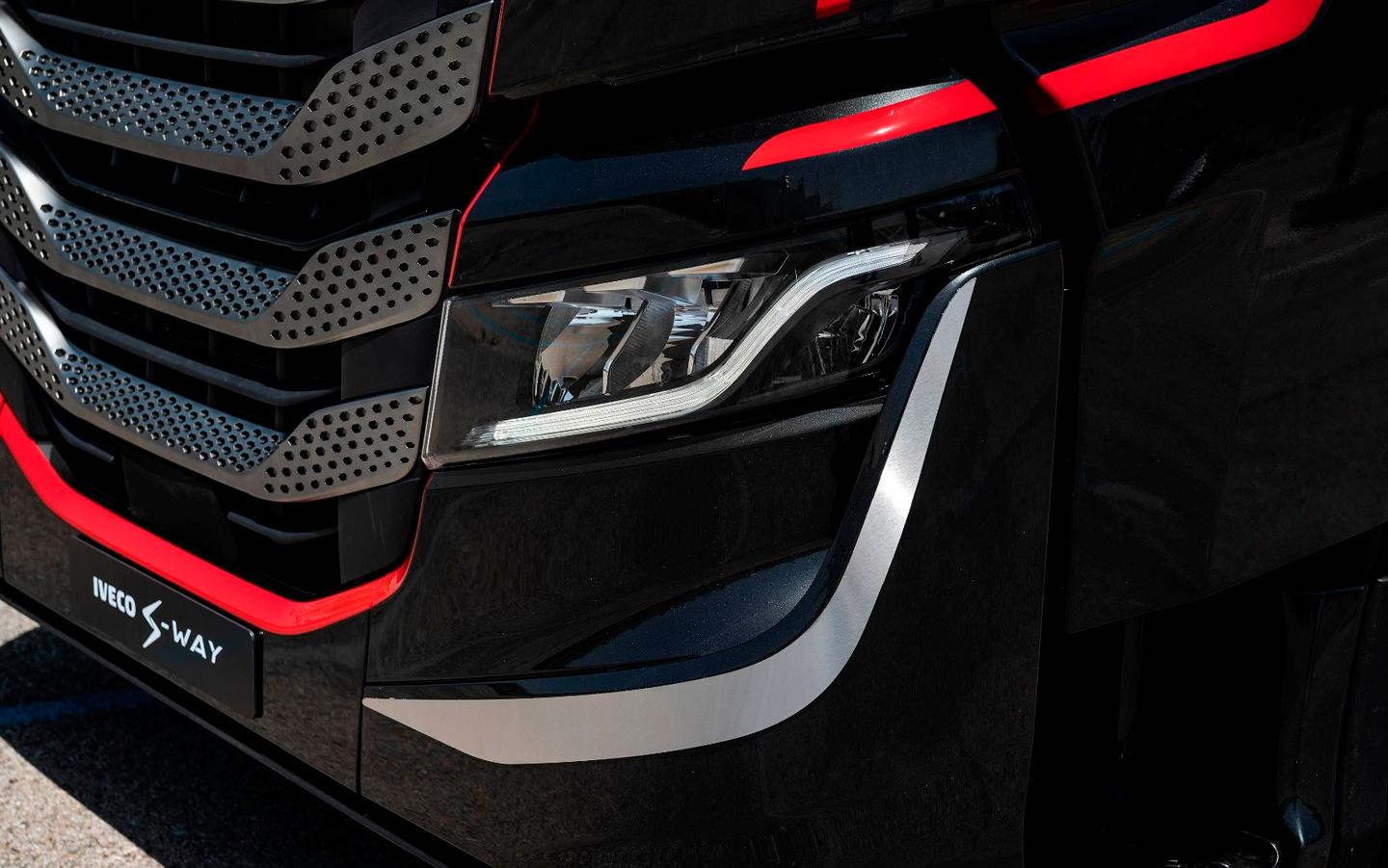 Front detail on Iveco's Fit Cab concept