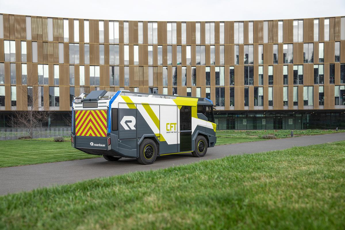 Called the Concept Fire Truck (CFT), the vehicle was first presented as a design study in 2016