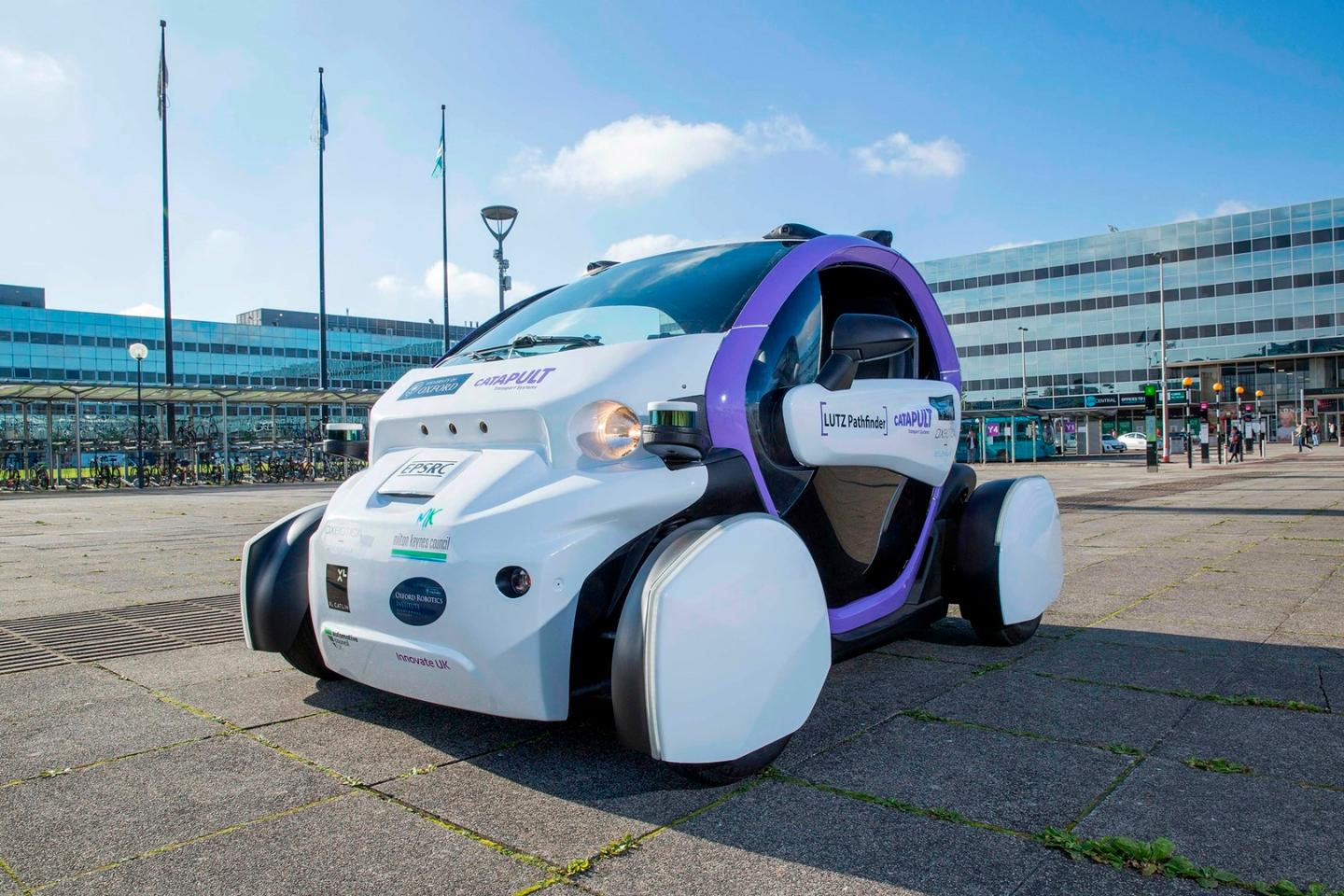 The LUTZ Pathfinder project is said to have been the first UK trial of automated vehicles in public pedestrianized spaces