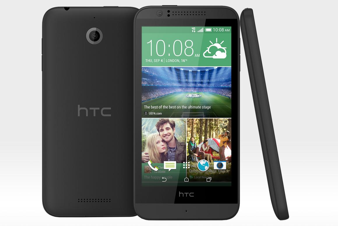 The Desire 510 is HTC's cheapest ever LTE handset