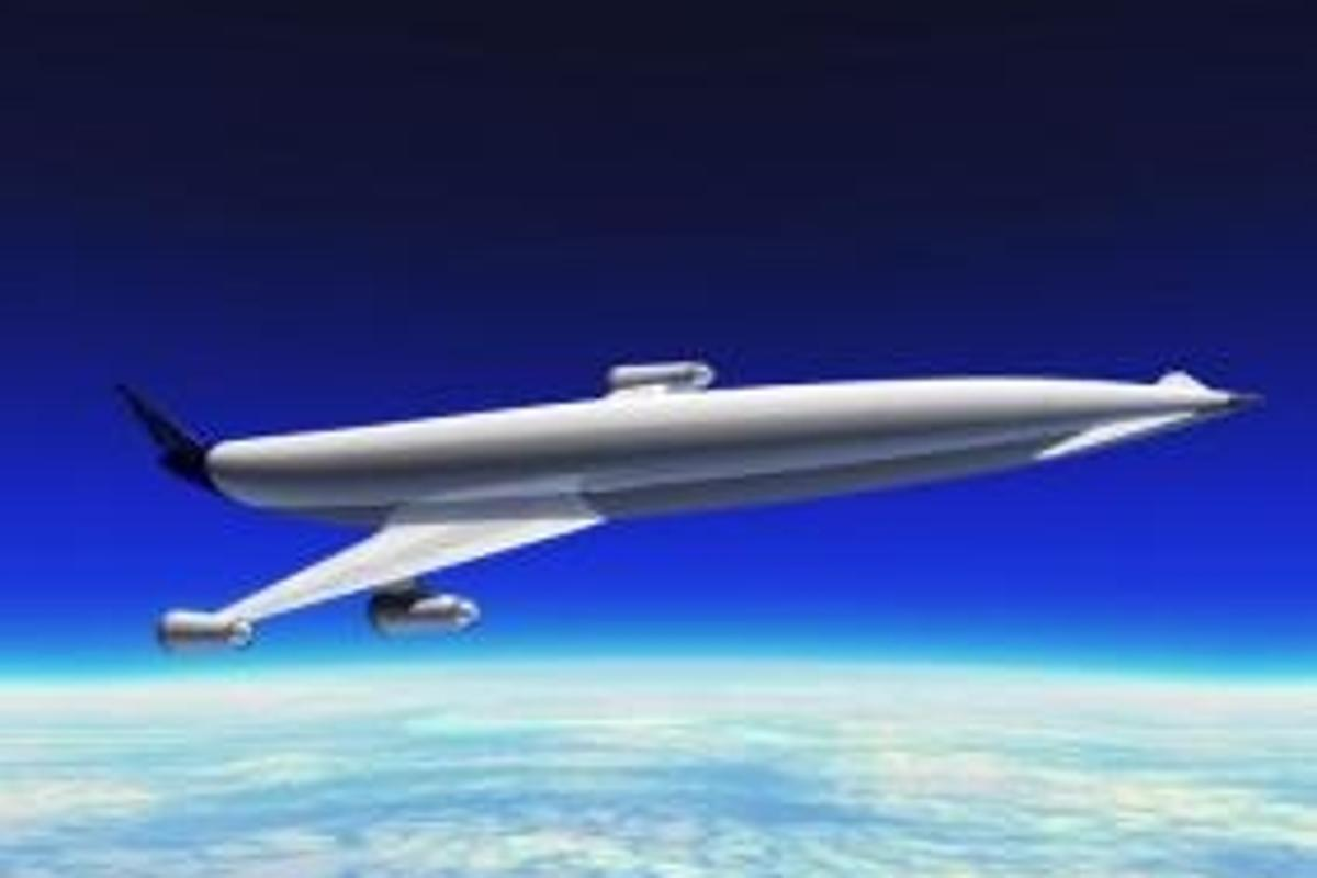 A2 - designed to reach Mach 5