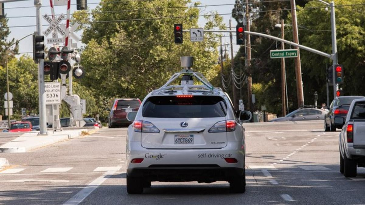 One of Google's Lexus autonomous SUVs was involved in a crash in Mountain View, California