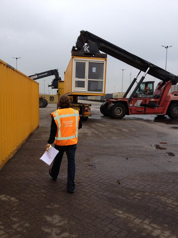 Richardson's Yard comprises 36 recycled shipping containers (Photo: James Farell)