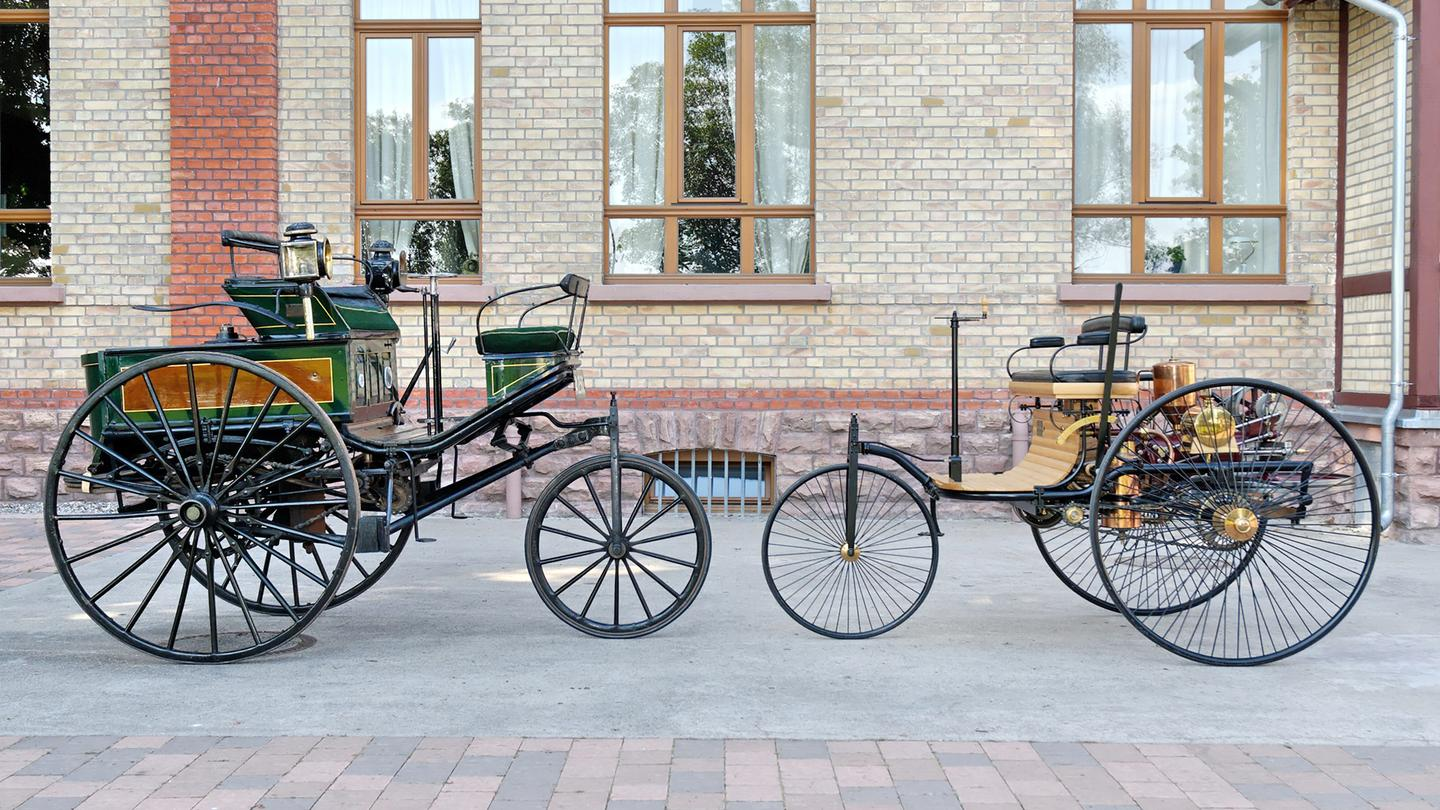 The very first motor car