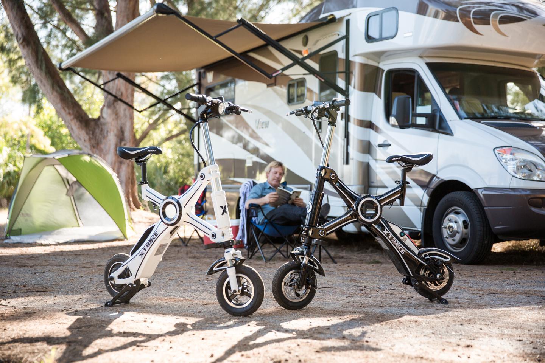 The X1 Explorer as an RV camping companion