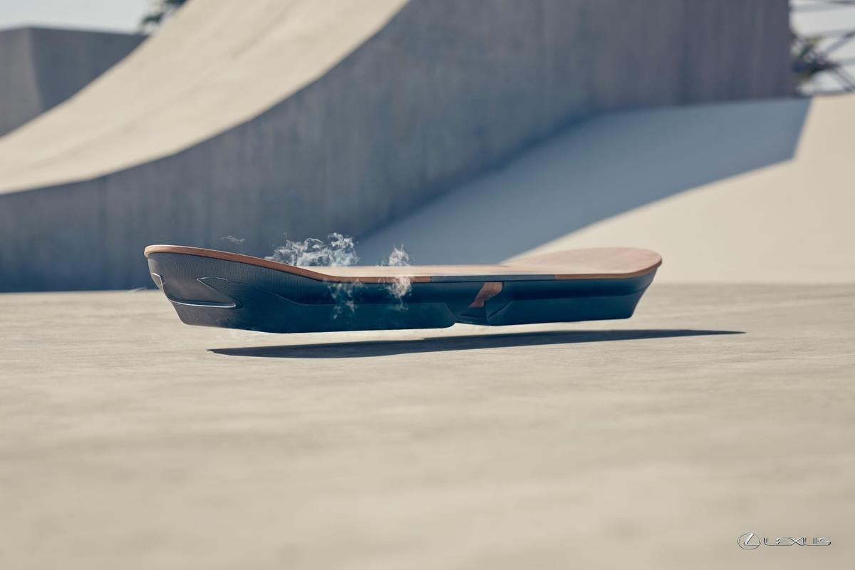 """Lexus will feature its overboard as part of the """"Amazing in Motion"""" campaign"""