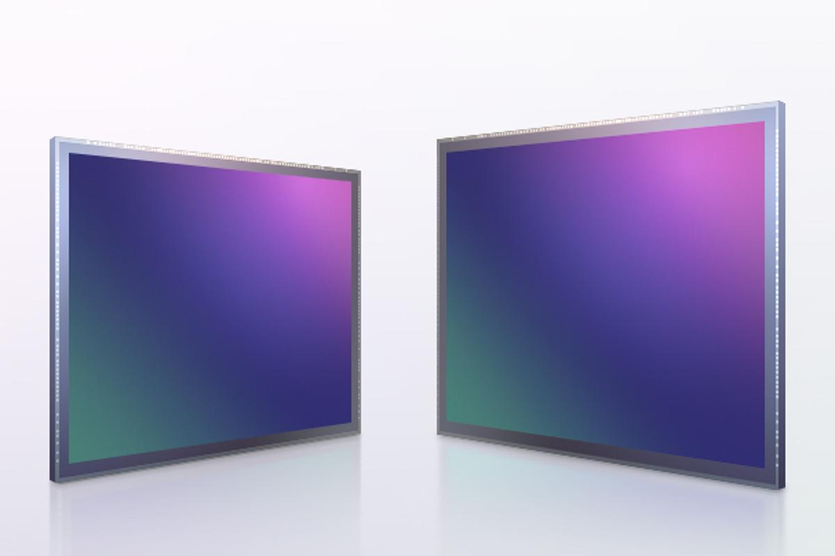 """The ISOCELL HP1 (left) is reported to be the """"industry's first 200-megapixel image sensor with 0.64-μm pixels"""""""