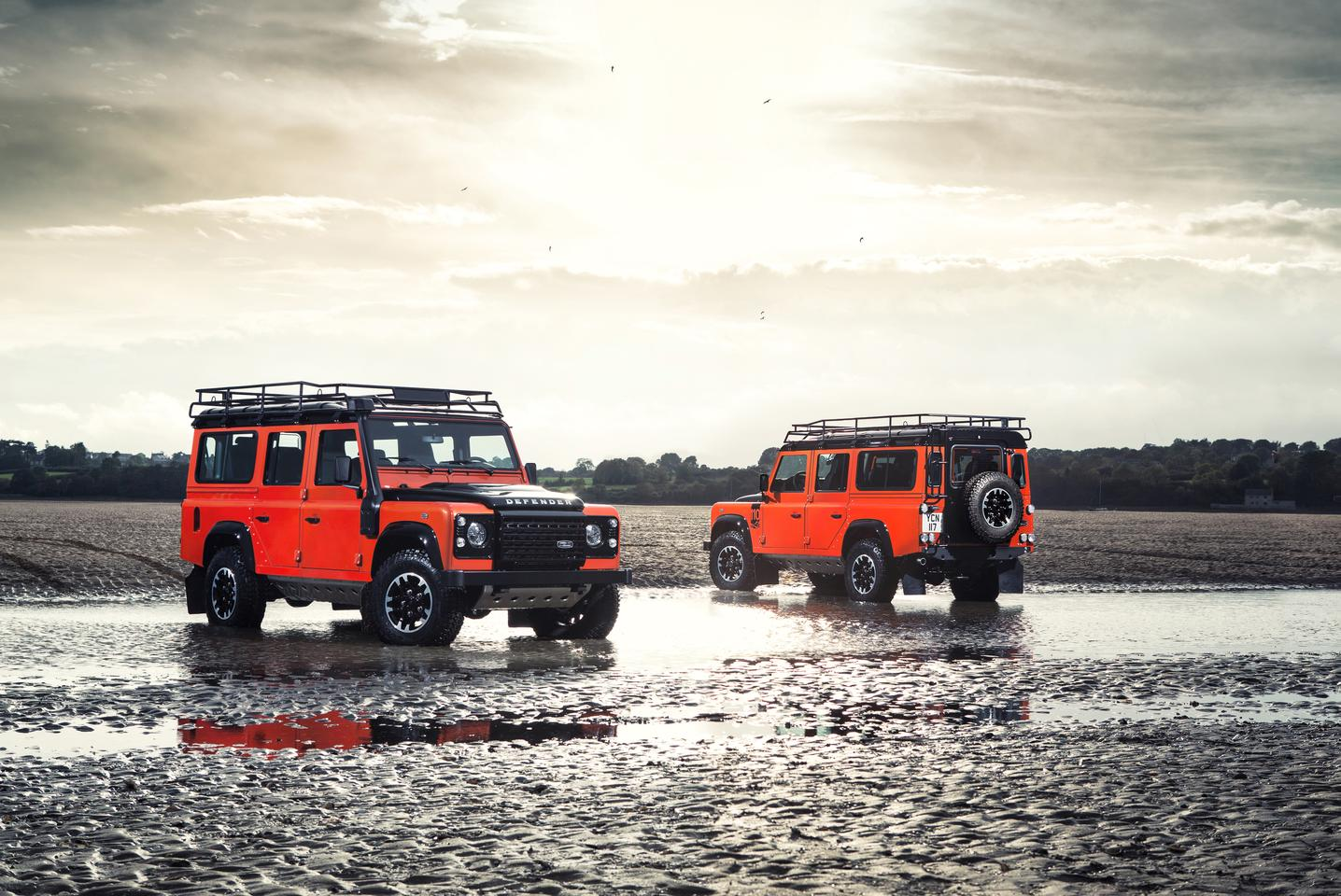 The Adventure Edition comes in buyer's choice of three colors, including Phoenix Orange