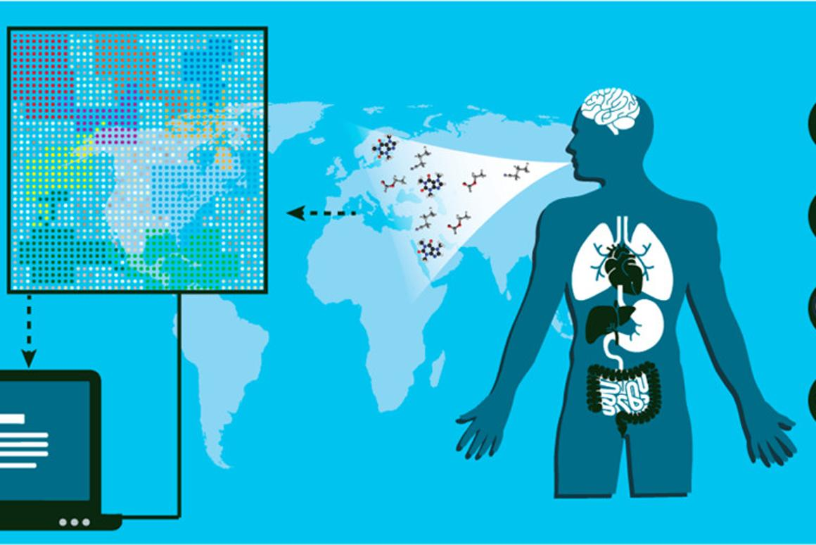 Researchers uncovered the chemical signatures of 17 diseases, including Parkinson's disease and eight kinds of cancer using anartificially intelligent nanoarray and mass spectrometry