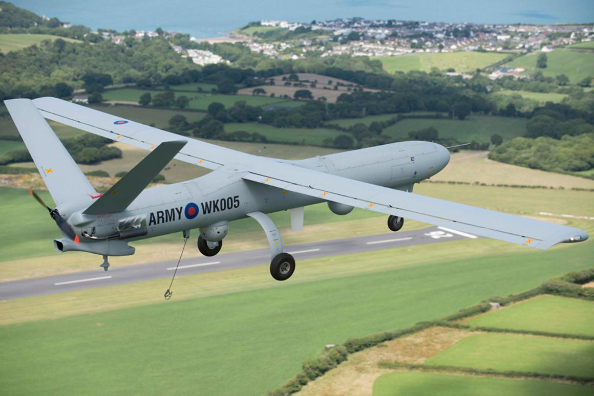 The Watchkeeper UAV has be given the go ahead for military flight tests (Photo: Richard Seymour, Thales UK)