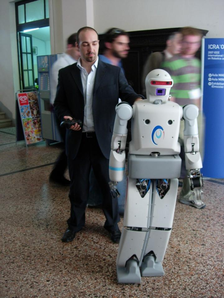PAL Robotics REEM-A took just one year to develop and build, appearing in 2005