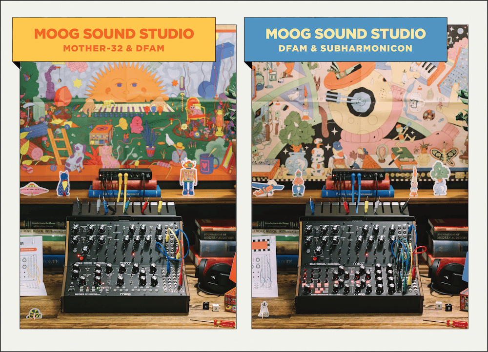 The Moog Sound Studio is available in two versions