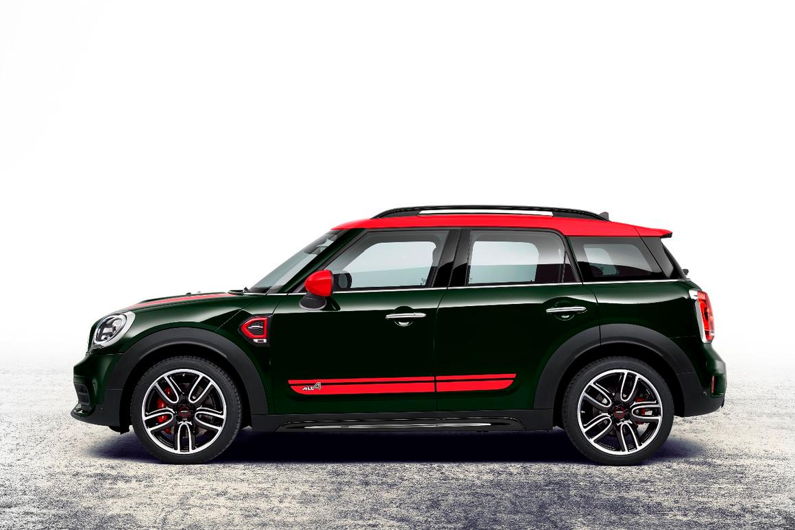 The new Countryman is the largest Mini ever, and the John Cooper Works package adds some extra sportiness