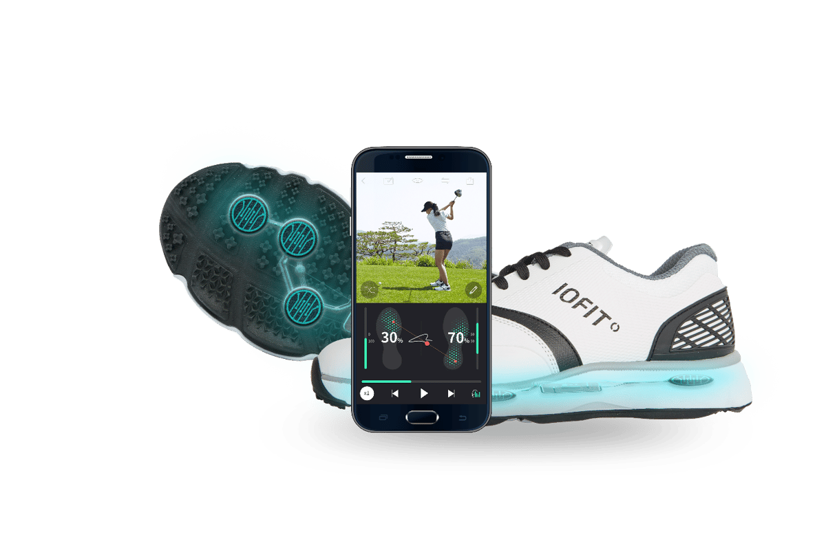Iofit wants to improve your swing, tracking your mechanics using pressure sensors