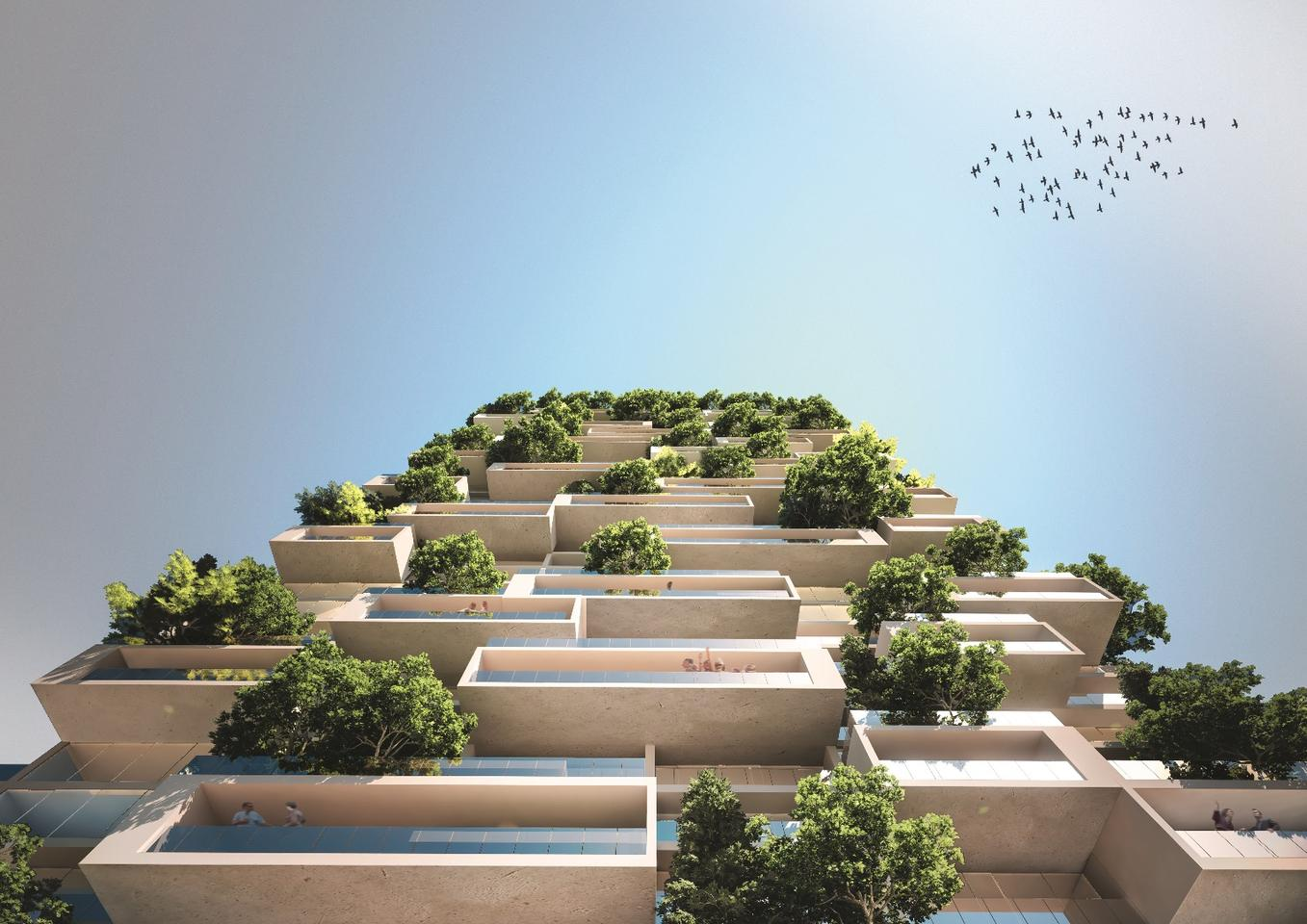 """Following an architectural competition, Italy's Stefano Boeri has been given the nod to design a """"vertical forest"""" for Lausanne, Switzerland"""