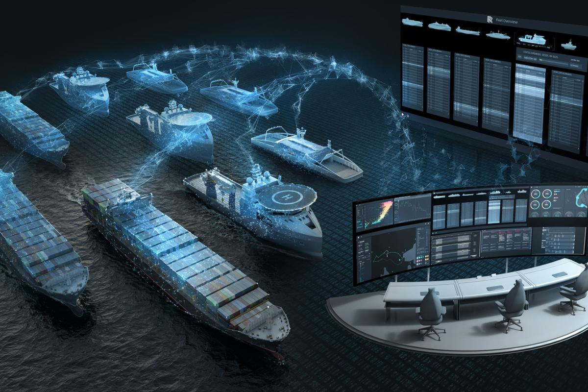 Rolls-Royce imagines using satellite systems as part of ship-to-ship communication networks