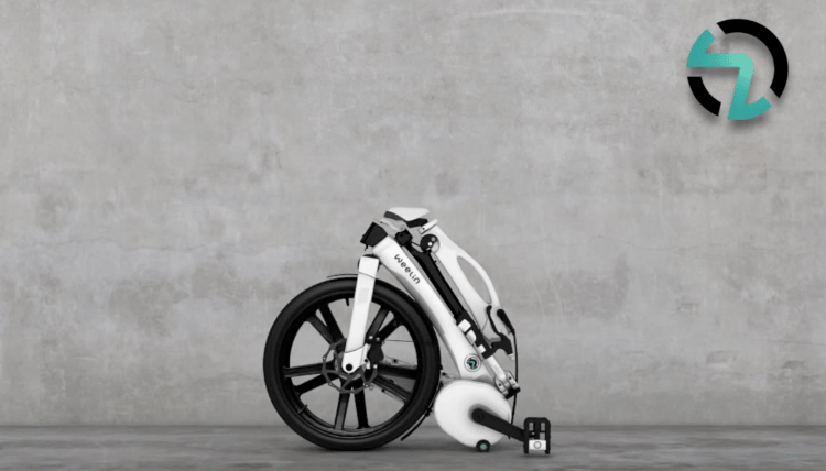 The Weelin folding bike