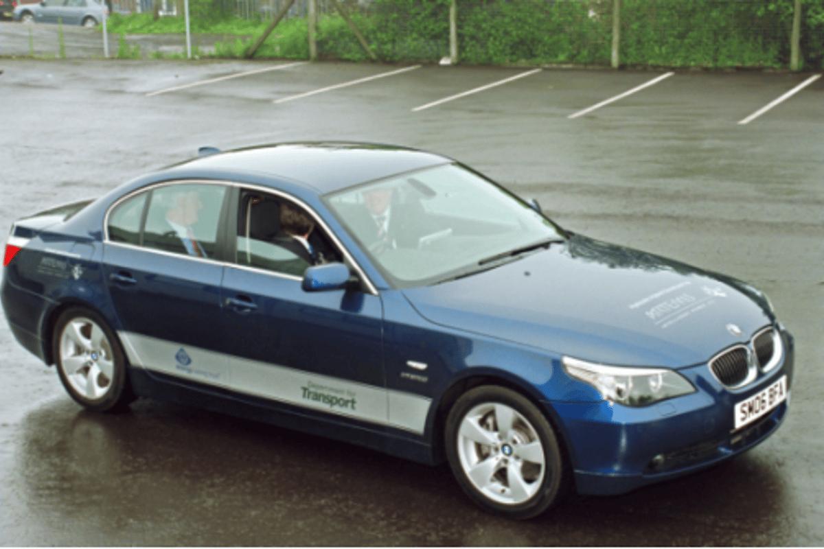 BMW 530i prototype