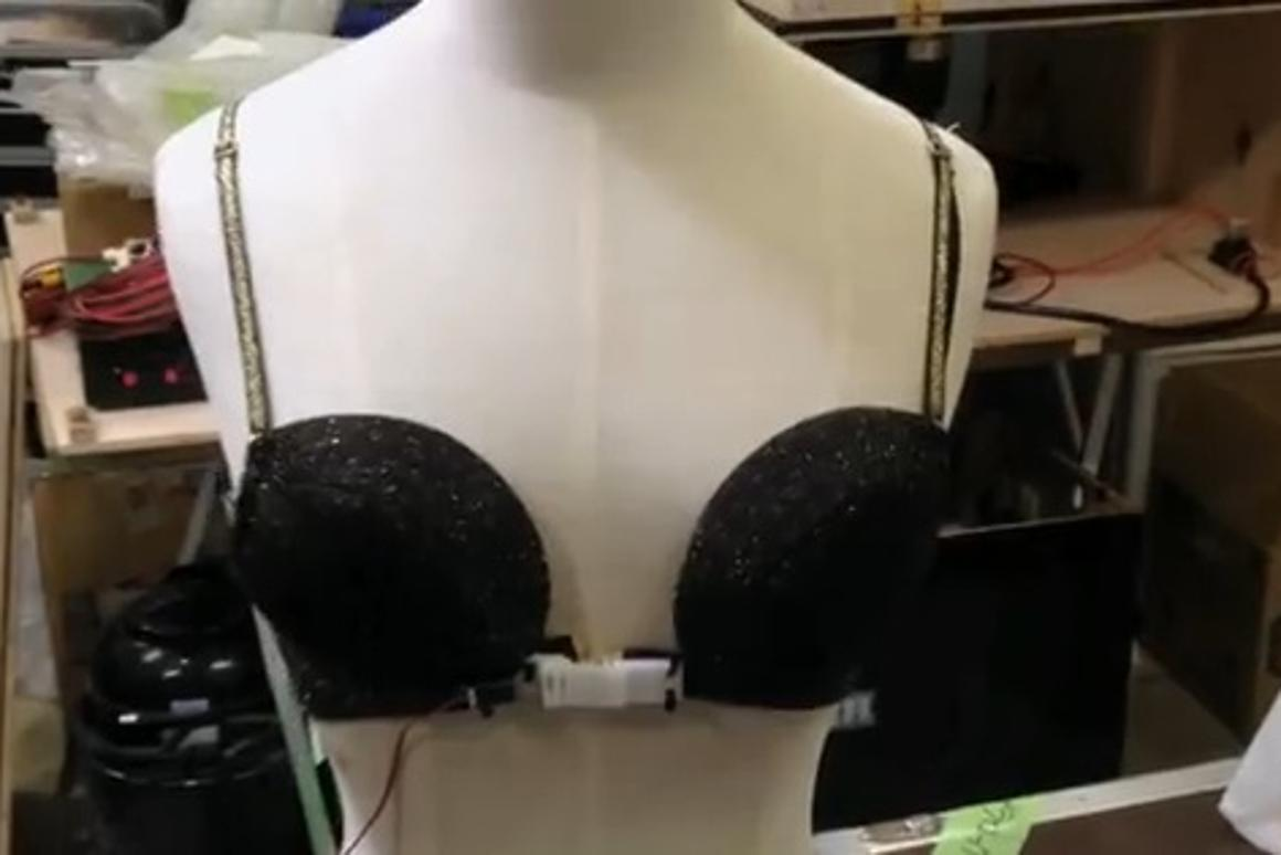 The True Love Tester bra automatically unhooks itself when it senses the woman feeling true love