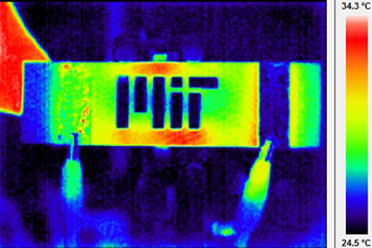 MIT researchers have developed an advanced composite material which could have big implications for make aircraft safety (Image: MIT)