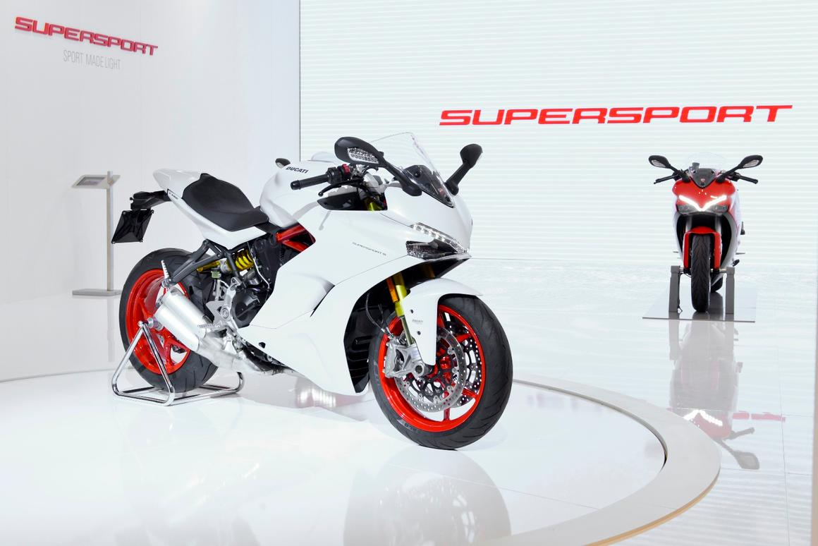 Ducati brings back the SuperSport name after almost a decade of absence