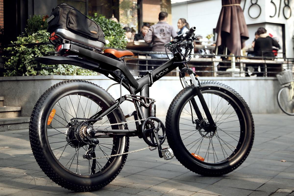 Moar e-bikes include 500- or 750-watt electric drives, full suspension and 4-in fat tires