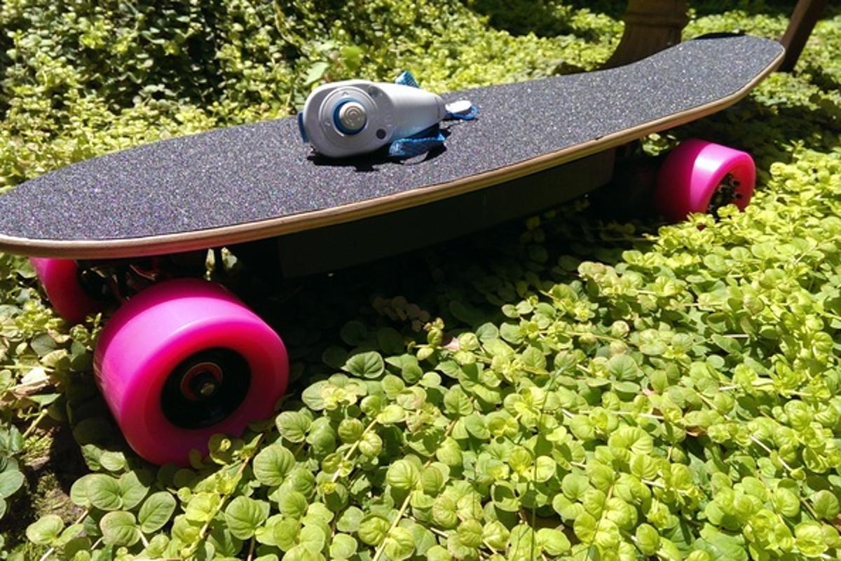 The Electric Bubblegum Board features 3D-printed parts