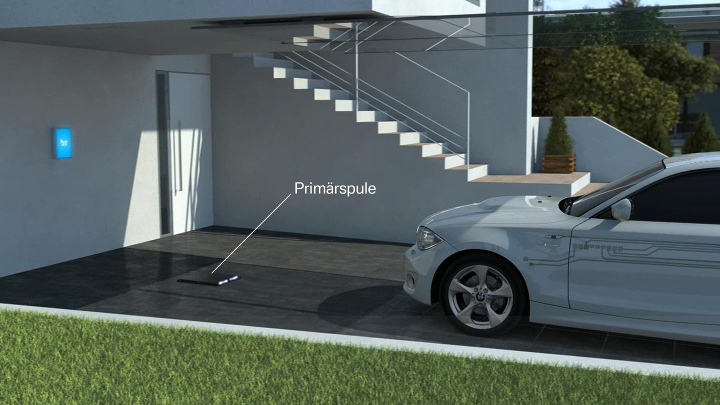 Architecture and structure of inductive charging