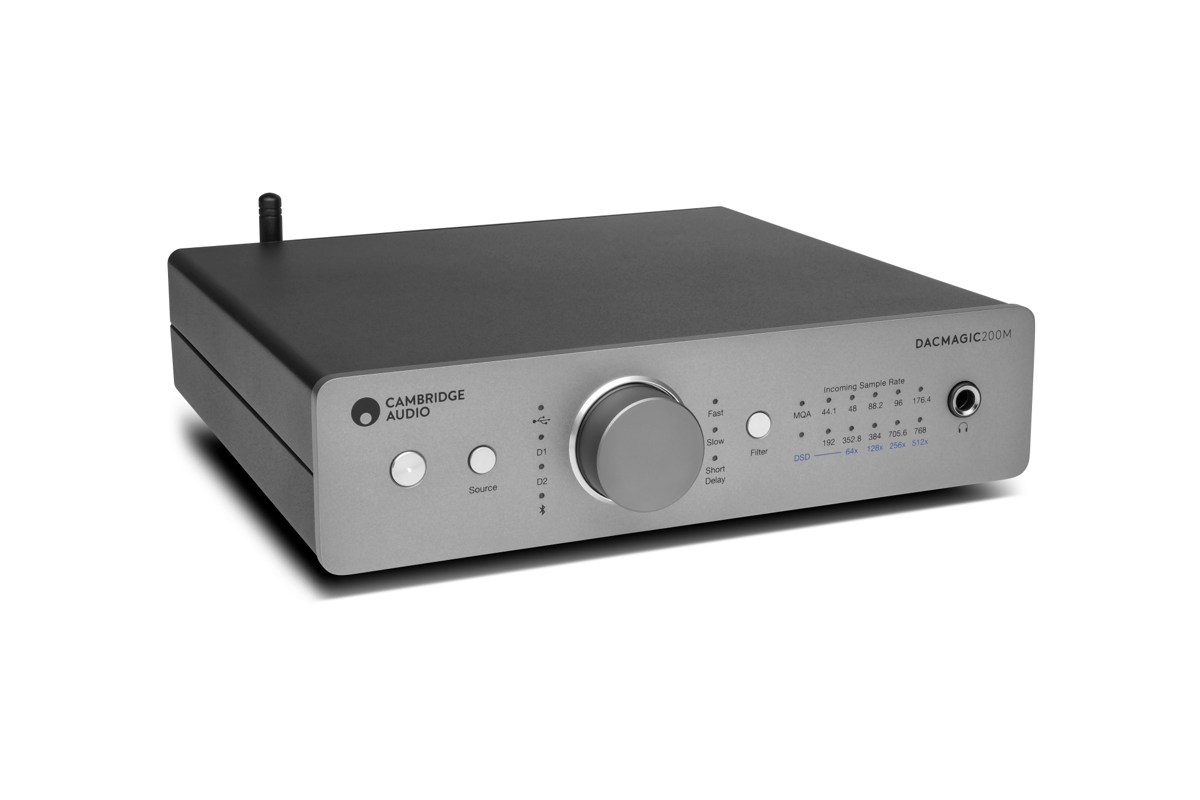 The DacMagic 200M flagship is the first product from Cambridge Audio to offer native MQA support
