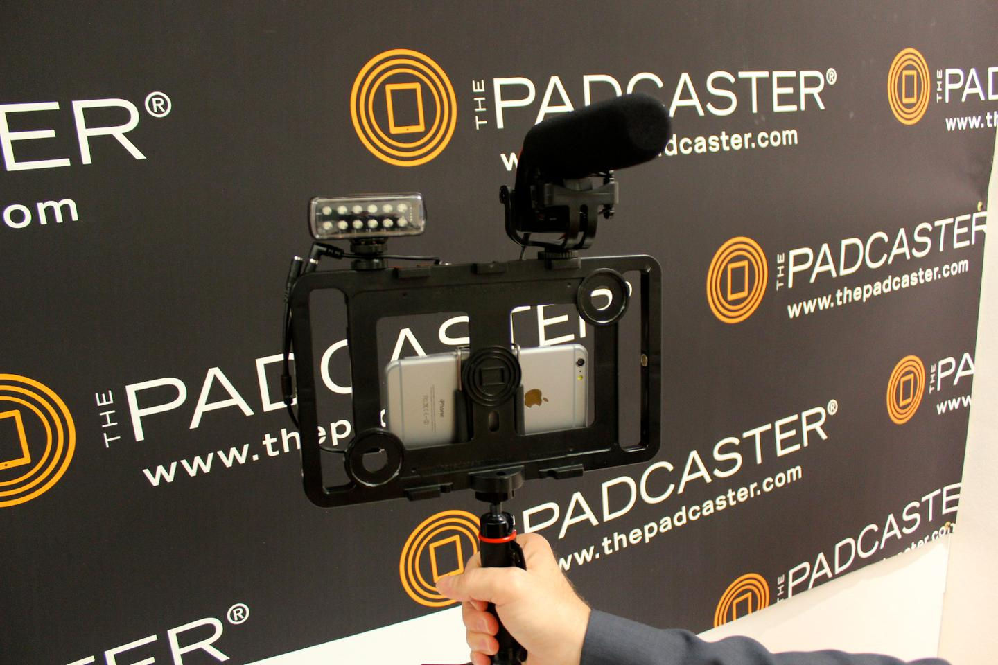 The new Padcaster, still awaiting a name