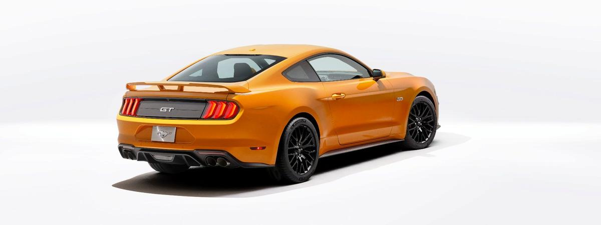 Ford is offering special, sticky Michelin rubber on the new Mustang