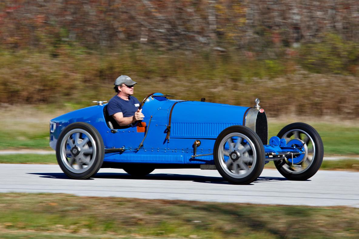 The cover carfor the Gooding & Company Scottsdale catalog, this Type 25 Bugatti was estimated to sell between $2,600,000 to $3,200,000, and was one of the few cars to sell above estimate during the week. It wasn't surprising that it fared well, as it is a very original example ofthe most successful racing car in history, and one of the original Lyon models, named after the site of the car's debut on August 2, 1924. Though the car is 91 years of age, the purchaser became just the fourth owner, paying$3,300,000.