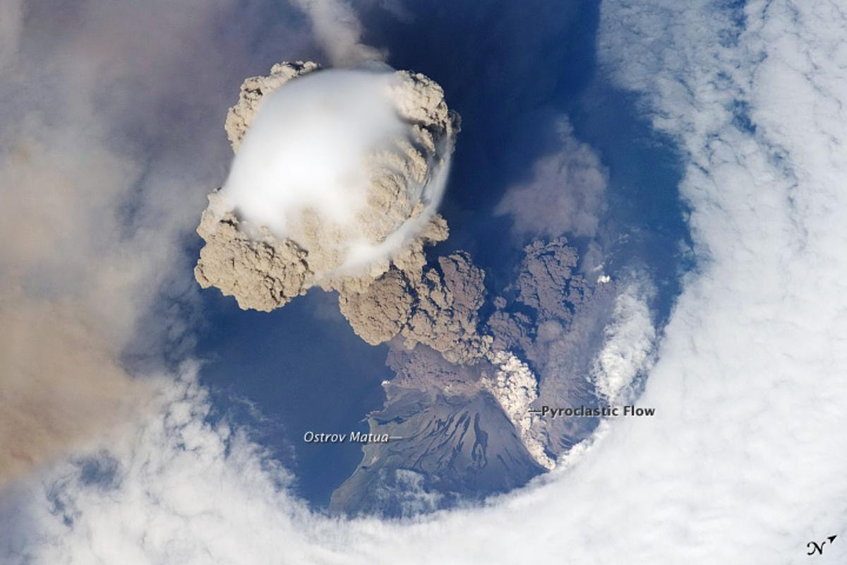 A new study suggests that the eruption of the Sarychev volcano in Russia in June of 2009 had a bigger impact on the climate than previously thought