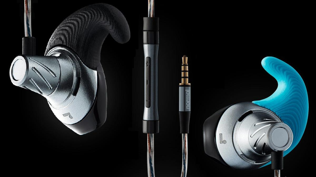 The earform cap of the Normal earphones are 3D-printed to provide a snug fit