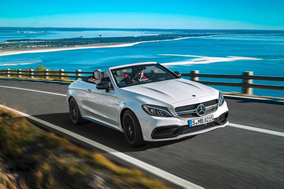 Thanks to a revised suspension and new rear axle, the Cabriolet should handle sharply
