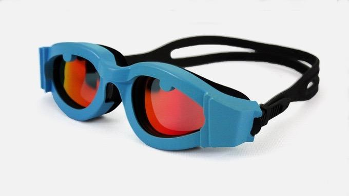 Along with their guidance system, OnCourse Goggles also feature a soft silicone gasket, polarized lenses, an anti-fog coating, and UV protection