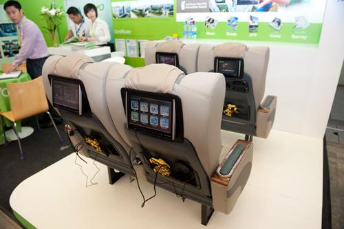 FUNTORO's MOD Infotainment System on display at Busworld Asia