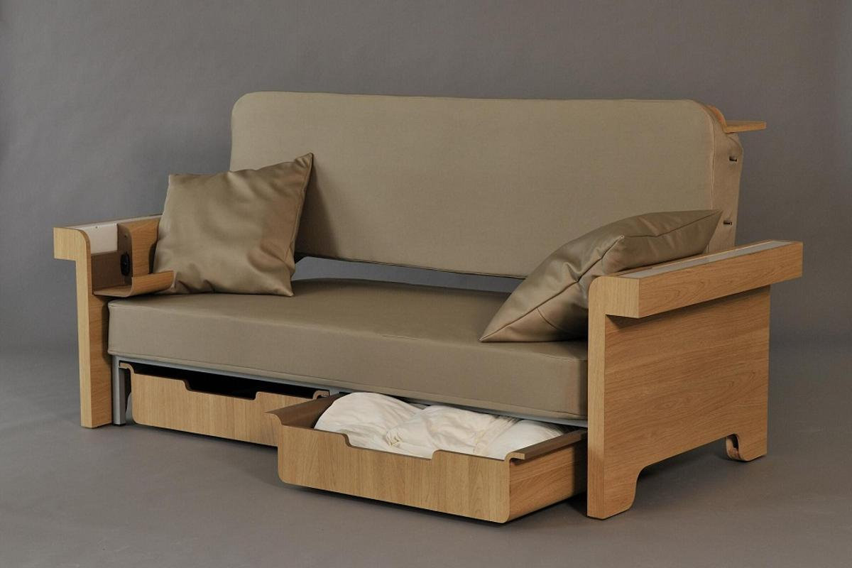 Story can be used as a regular sofa, with the added advantage of storage underneath