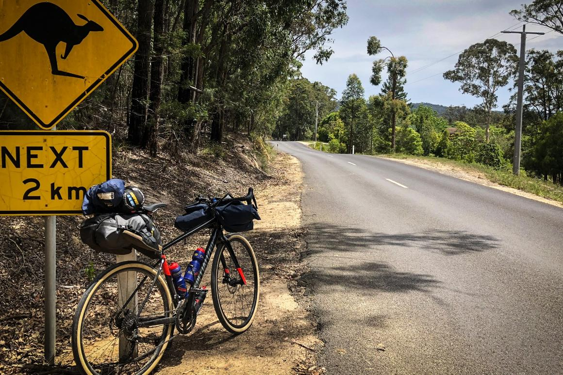 On the road in the south-east corner of Australia