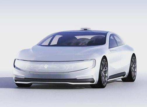 LeEco LeSEE concept car