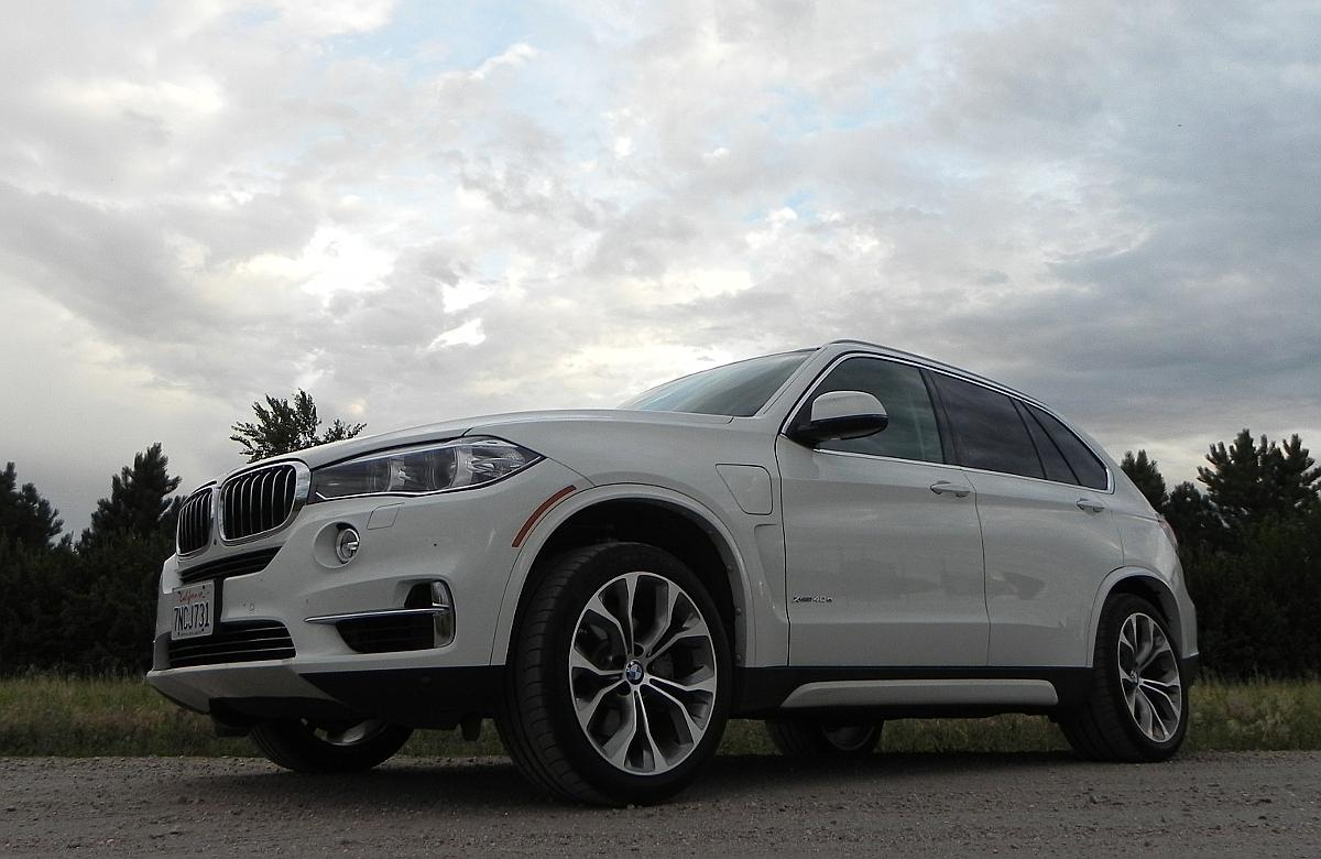 The BMW X5has some of the widest tires we've ever seen on any vehicle outside of a drag strip
