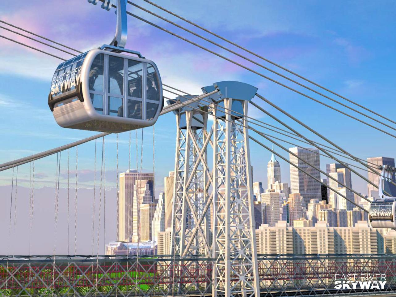 The East River Skyway proposal, by developer CityRealty