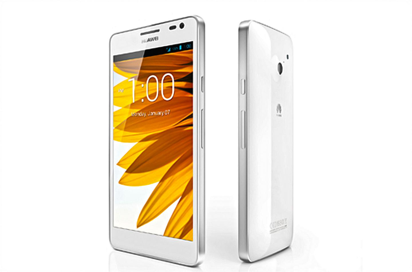 The Ascend D2 is smaller, but has better specs