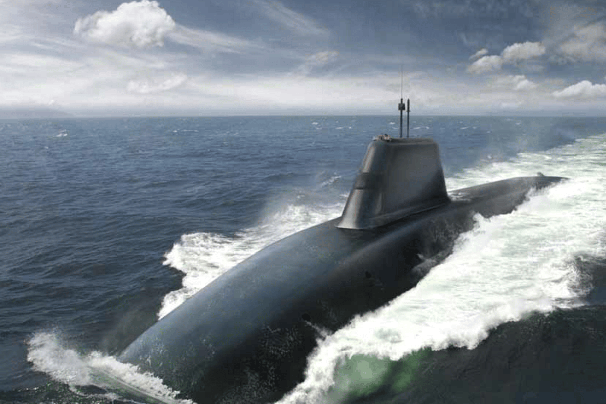 Artist's concept of the Successor submarine (Image: Ministry of Defence)